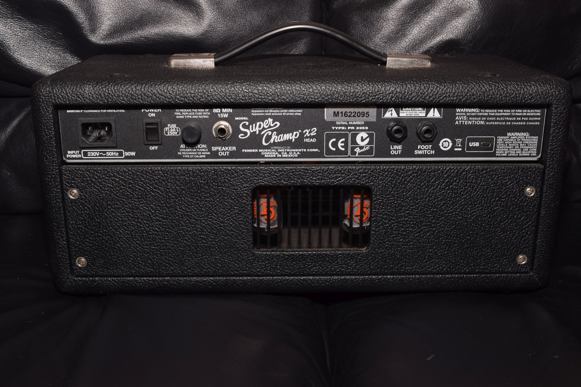 Fender Super Champ X2 Vintage Modified Tube Amp Head
