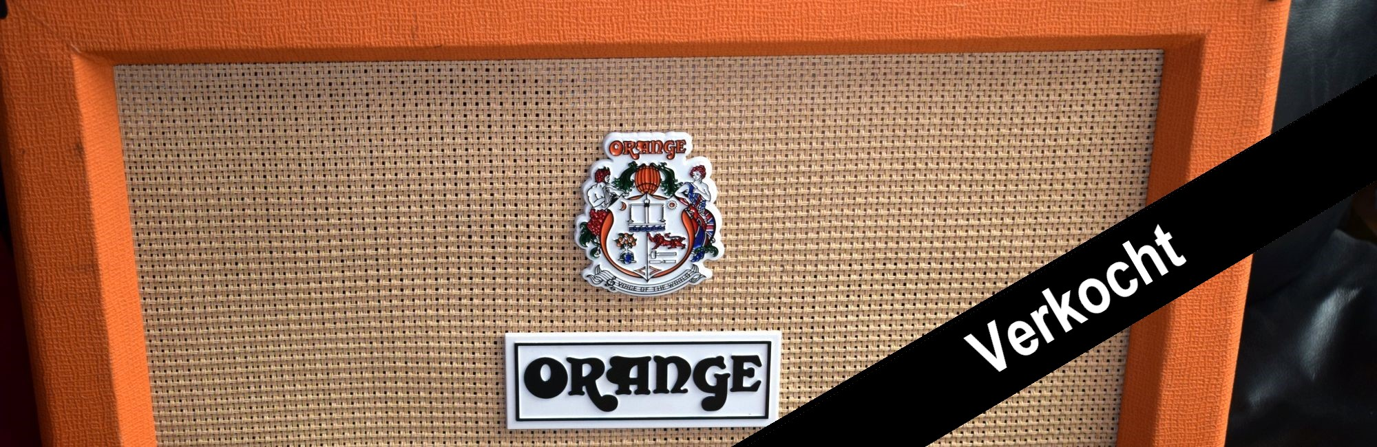 Orange PPC 212 Open Back Cabinet